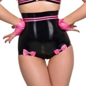 Latex JOLIE RETRO HIGH WAISTED KNICKERS